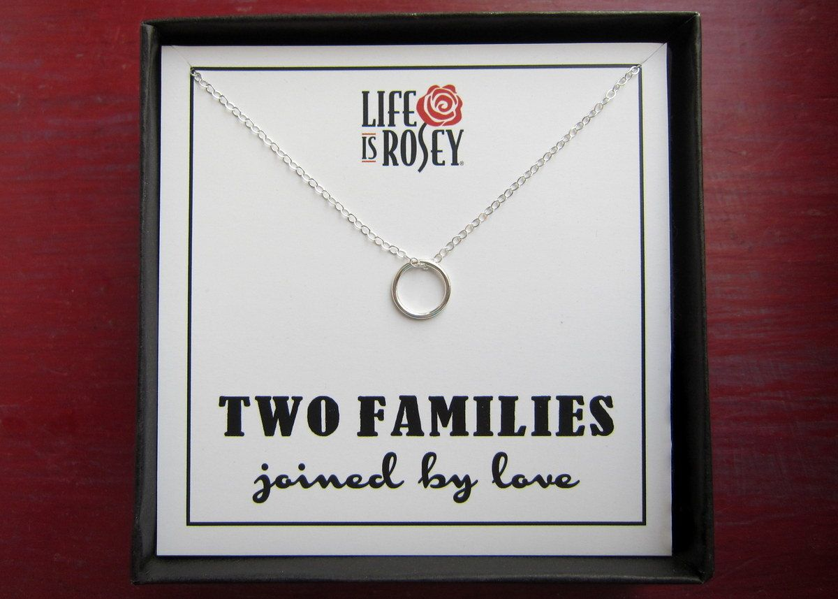 Blended Family Gift Mother Of The Groom Stepdaughter In Law