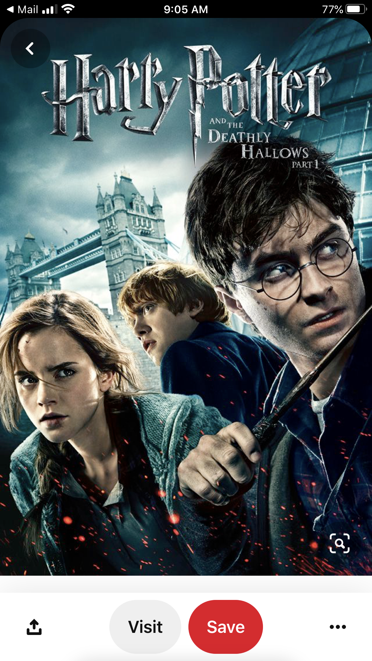 Pin By Doris Bailey On Harry Potter Deathly Hallows Part 1 Harry Potter Movies Deathly Hallows Part 2