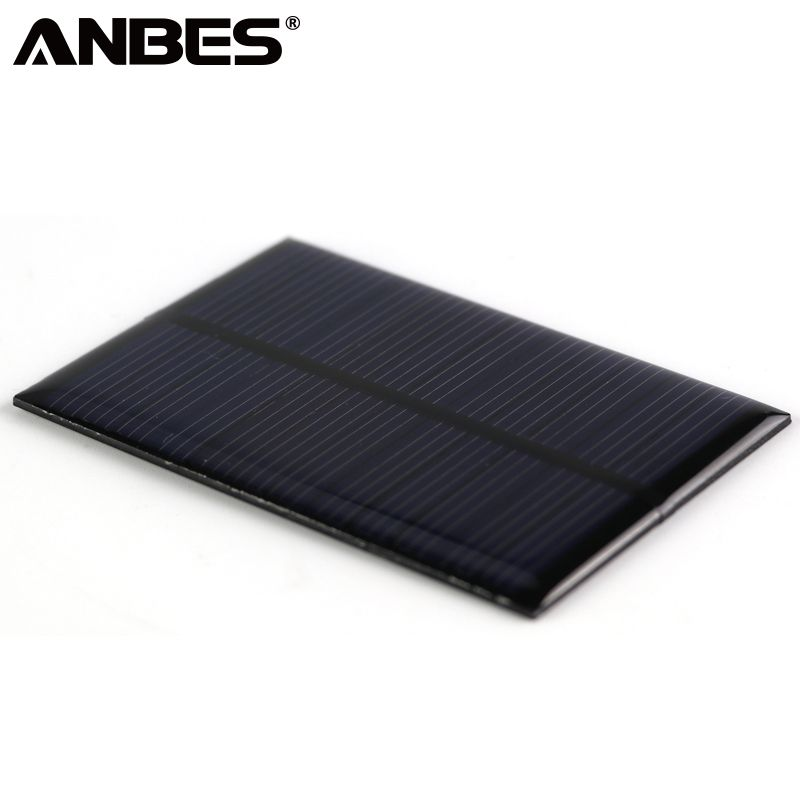 Kaufen Anbes Solar Panel 0 15 Watt 0 6 Watt 1 Watt 1 25 Watt 1 5 Watt Mini Solar System Diy Fur Batterie Handy Ladegerate Tragba Solar Panels Solar Solar Power