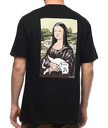 05abd250ee5f RipNDip Nermal Lisa Black Pocket T-Shirt   bliss in 2019   T shirt ...