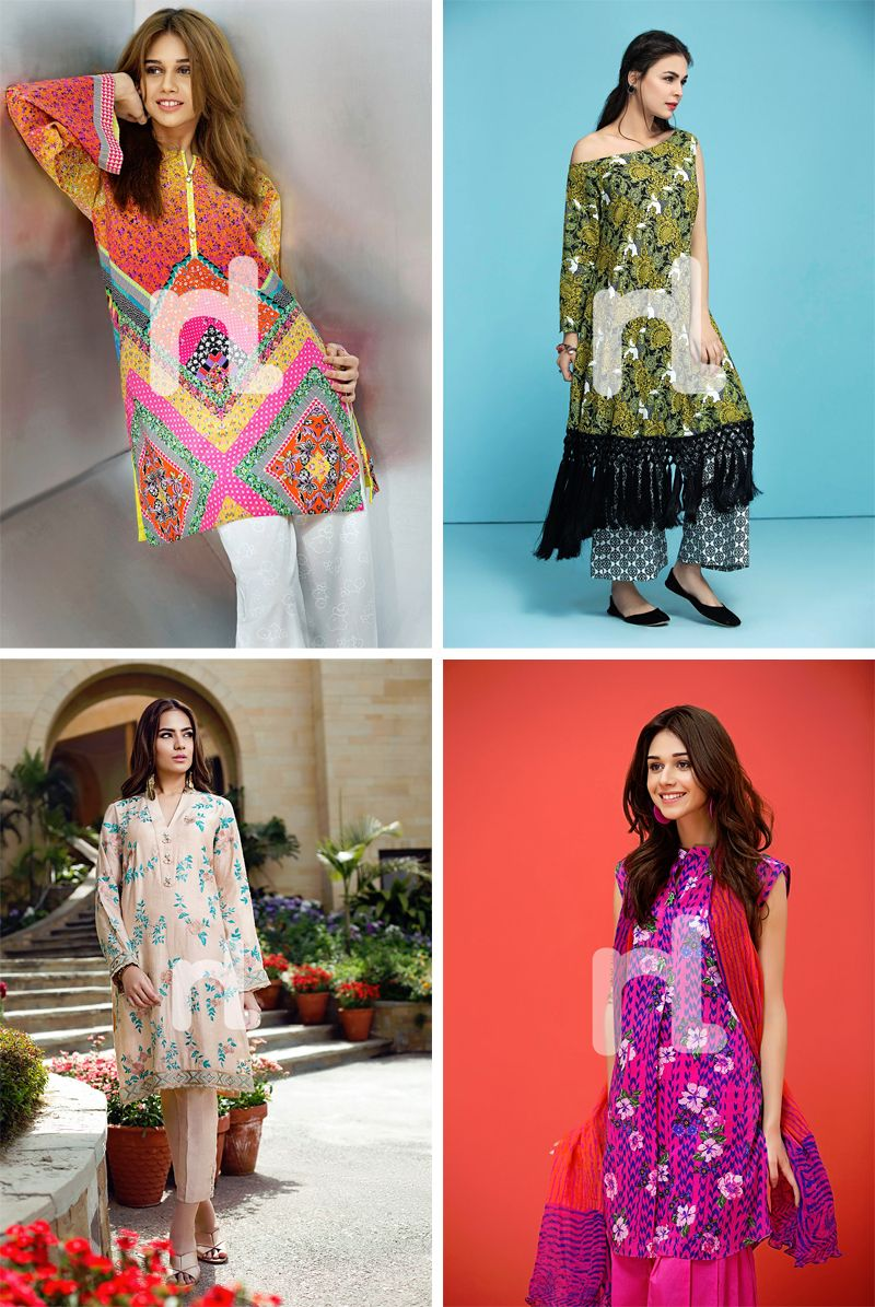 a81772003e Nishat Linen Spring Summer Lawn Collection top fashion brands of ...