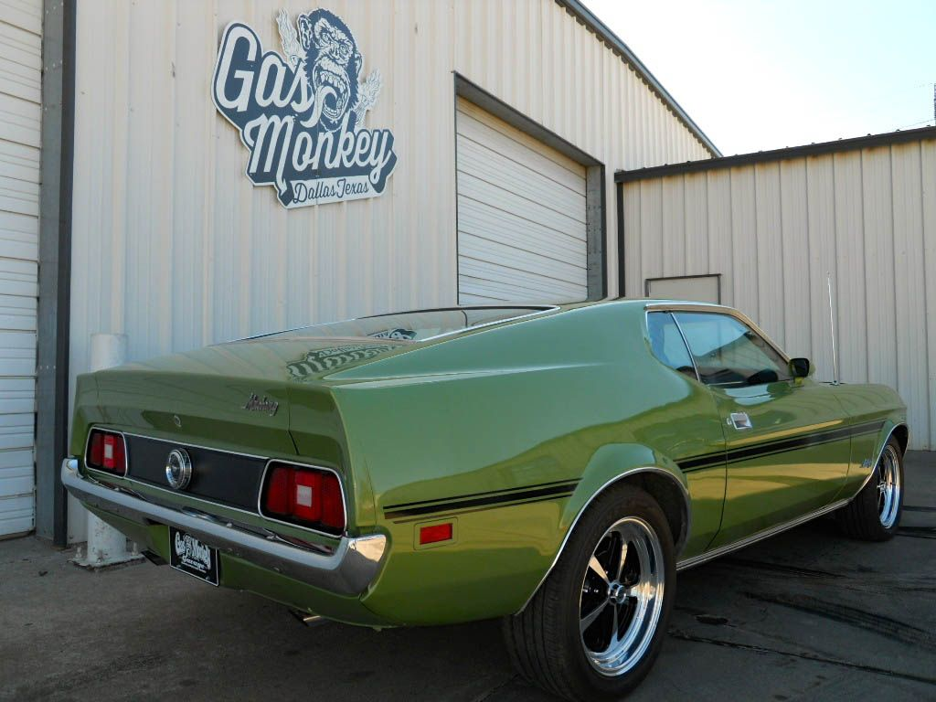 1972 ford mustang by gas monkey garage gas monkey pinterest camioneta. Black Bedroom Furniture Sets. Home Design Ideas