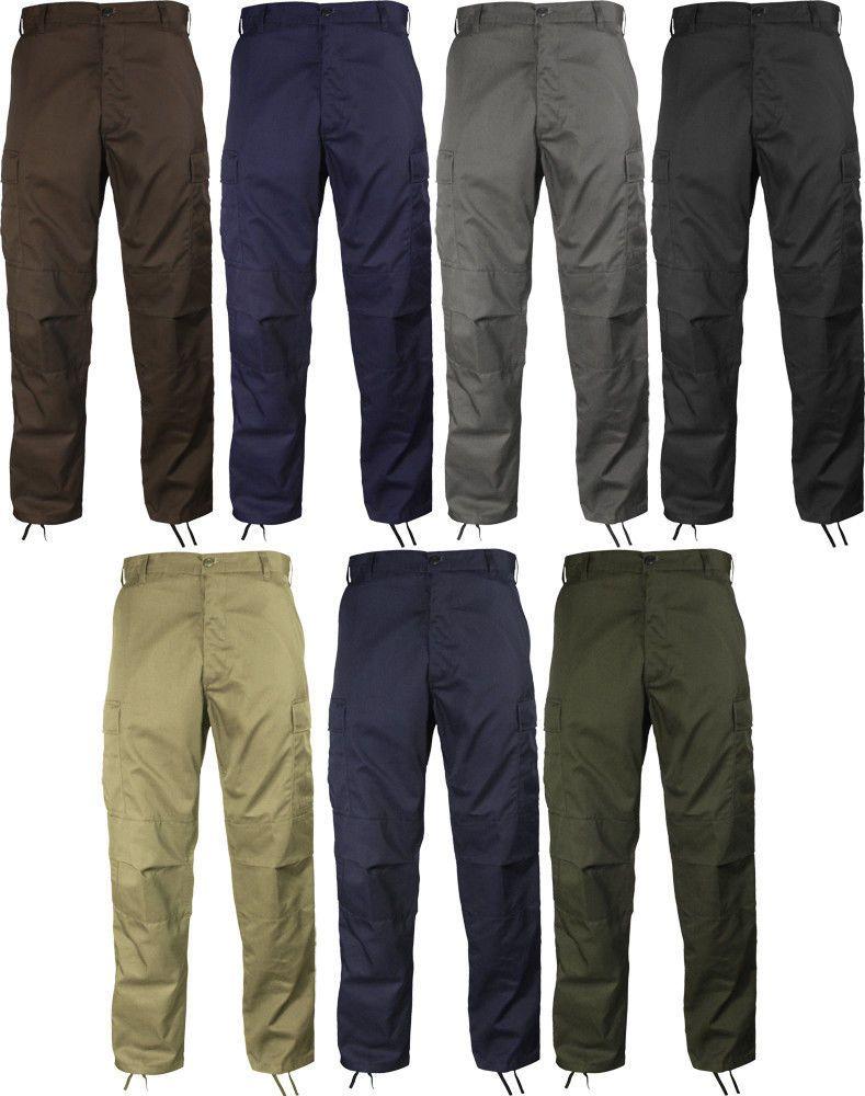 Solid Military BDU Cargo Fatigue Pants  ArmyUniverse  BDUPants ... 066c15c90d3