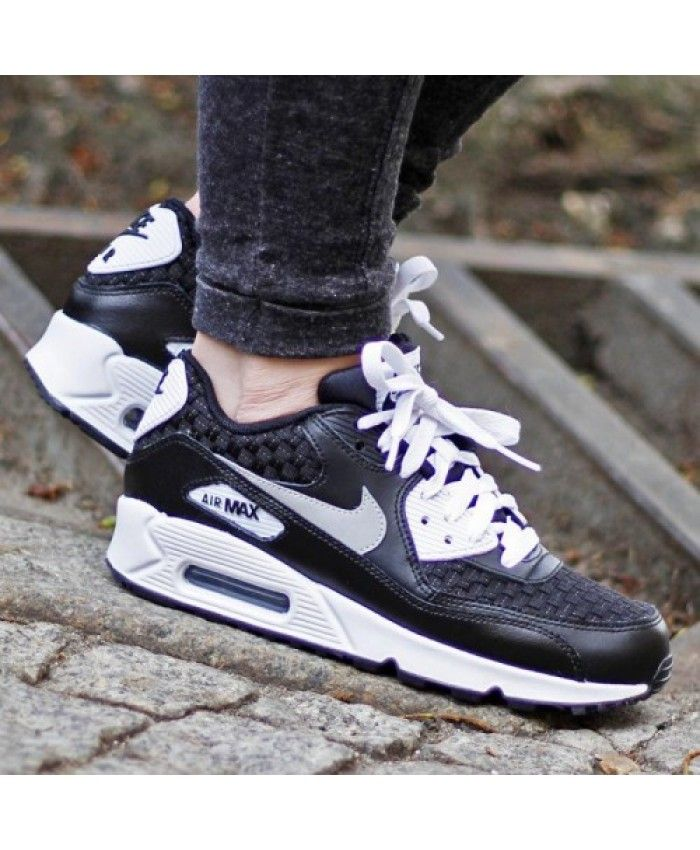 Buy Discount Nike Air Max 90 Mesh Gs Black White Mens Shoes & Trainers to  enjoy the Lowest Prices.