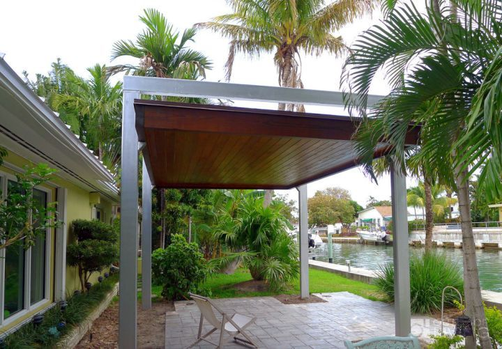 Modern Pergola Kit For Poolside Outdoors Pinterest