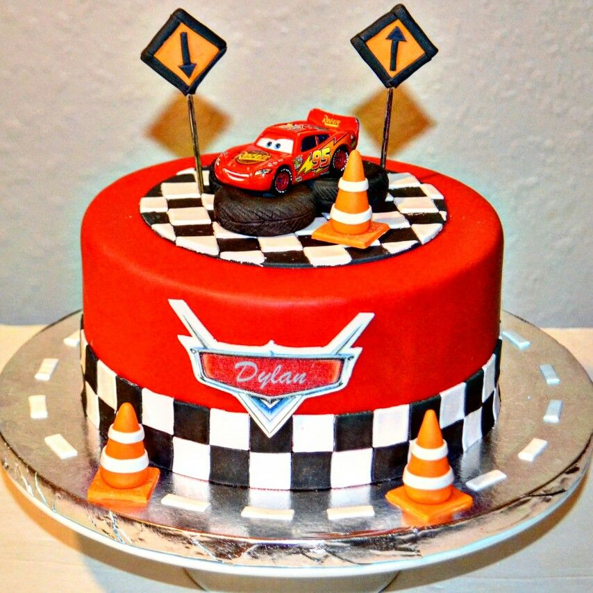 Racing Birthday Cakes For A 6 Year Old