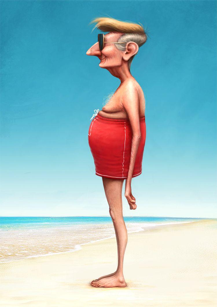 Funny Fat Kid On Beach : funny, beach, Https://www.behance.net/gallery/29507119/Beach-memories, Beach, Artwork,, Illustration,, Funny