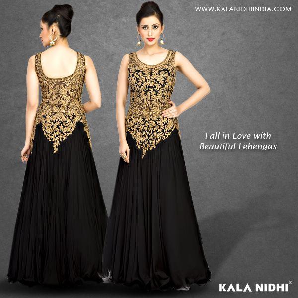 Fall in love with beautiful #lehengas Shop Now : http://www.kalanidhiindia.com/