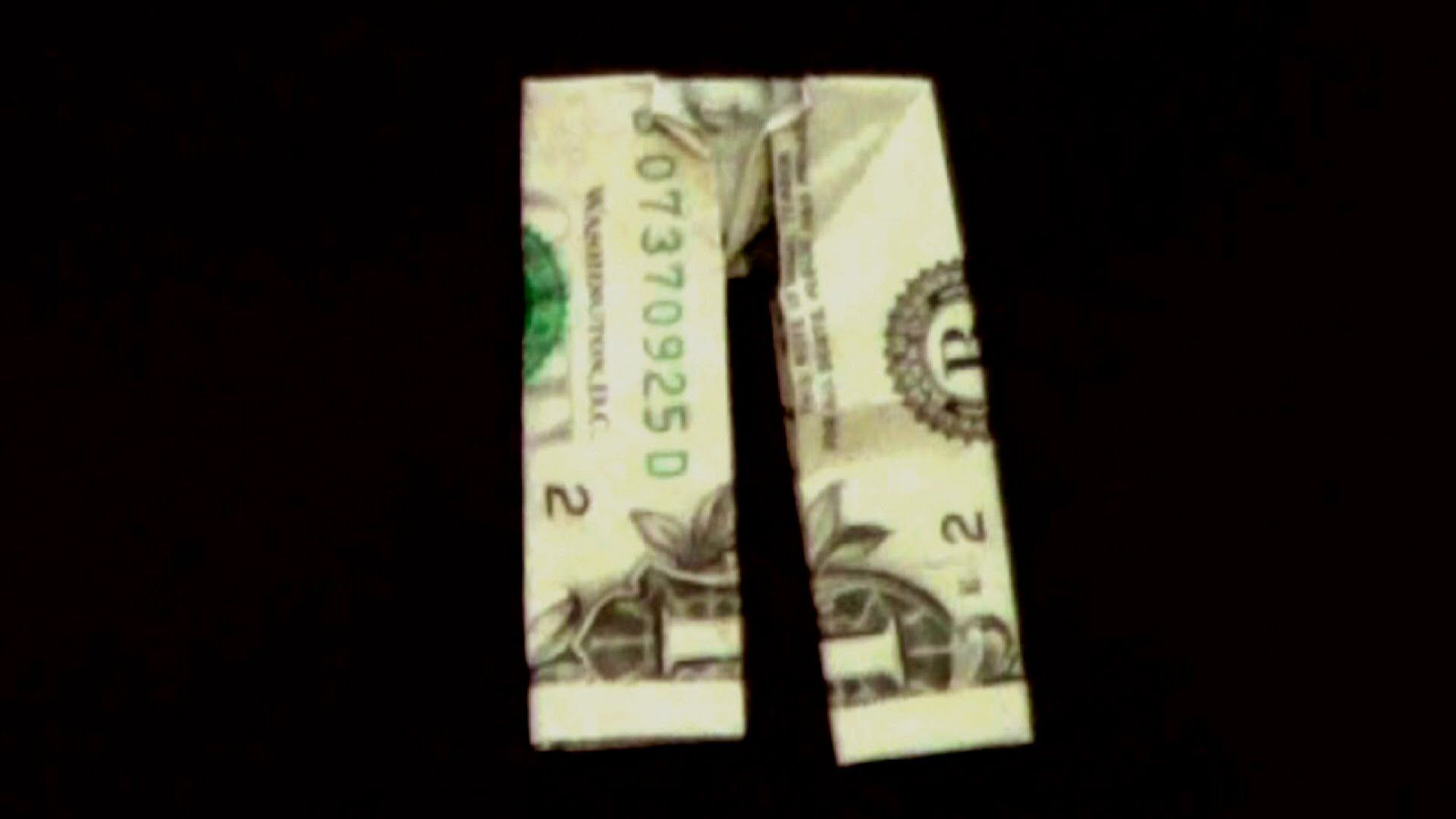 dollar origami pants how to make dollar pants geld