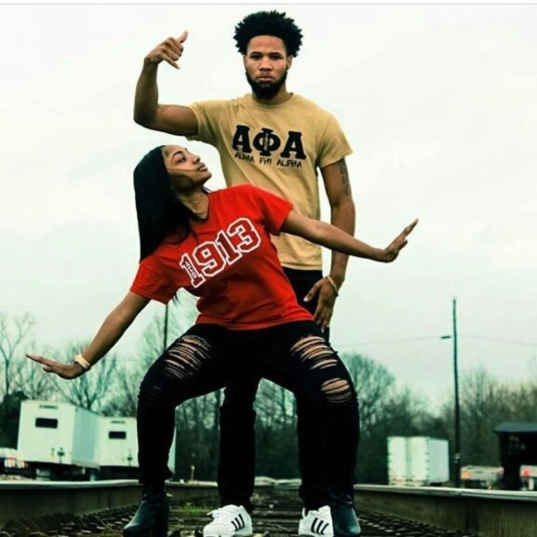 Delta Sigma Theta Soror And An Alpha Phi Alpha Bruh Celebrate