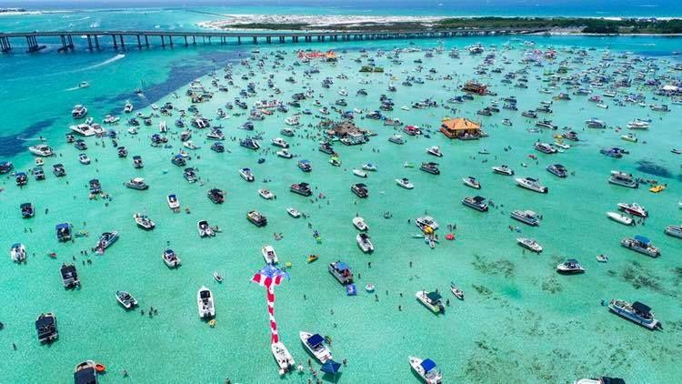 Crab Island In Destin Florida A Visitor S Guide In 2020