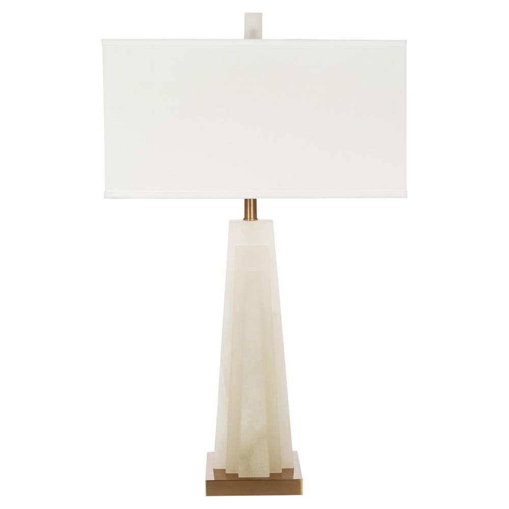 Mira Modern Classic White Stone Gold Base Table Lamp Classic Table Lamp Table Lamp White Table Lamp