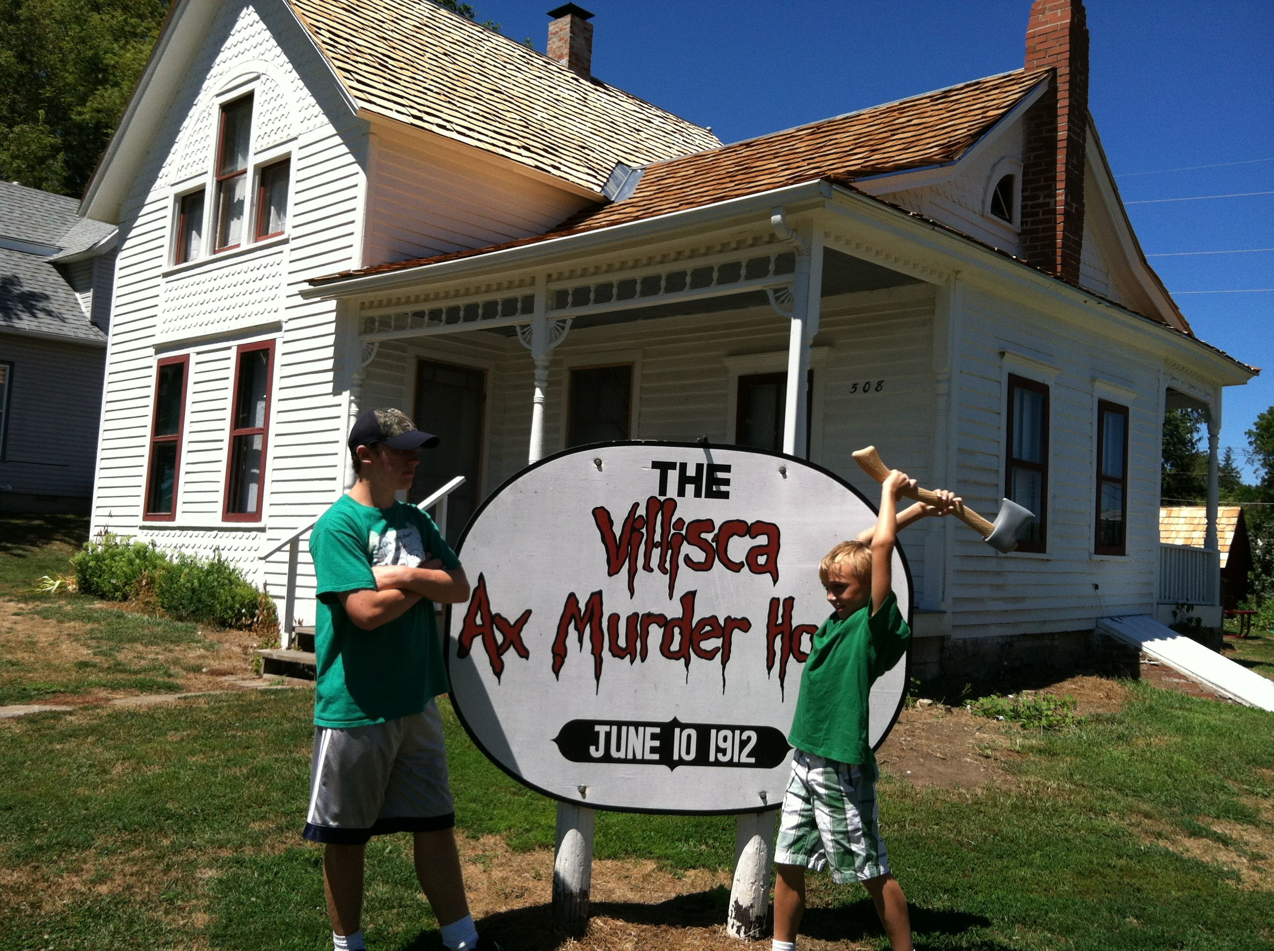 Image result for Villisca Ax House in Villisca, Iowa: