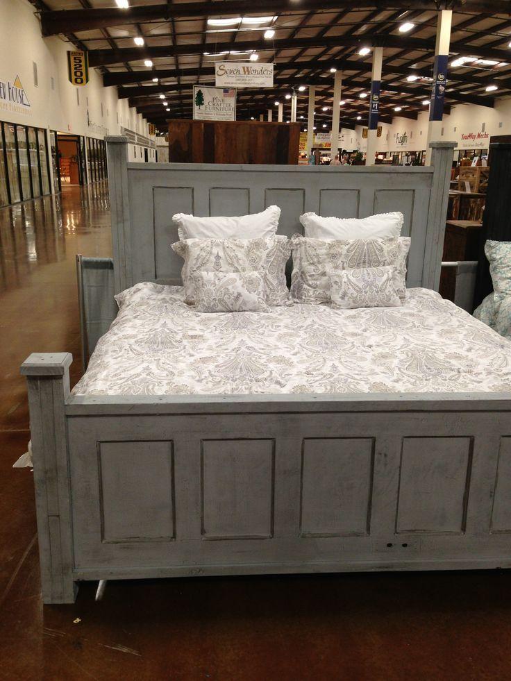 Bed Made With Door Old Door Bed In King Custom Made Homelite Johns In Mississippi 601 Headboard From Old Door Door Bed Frame Remodel Bedroom