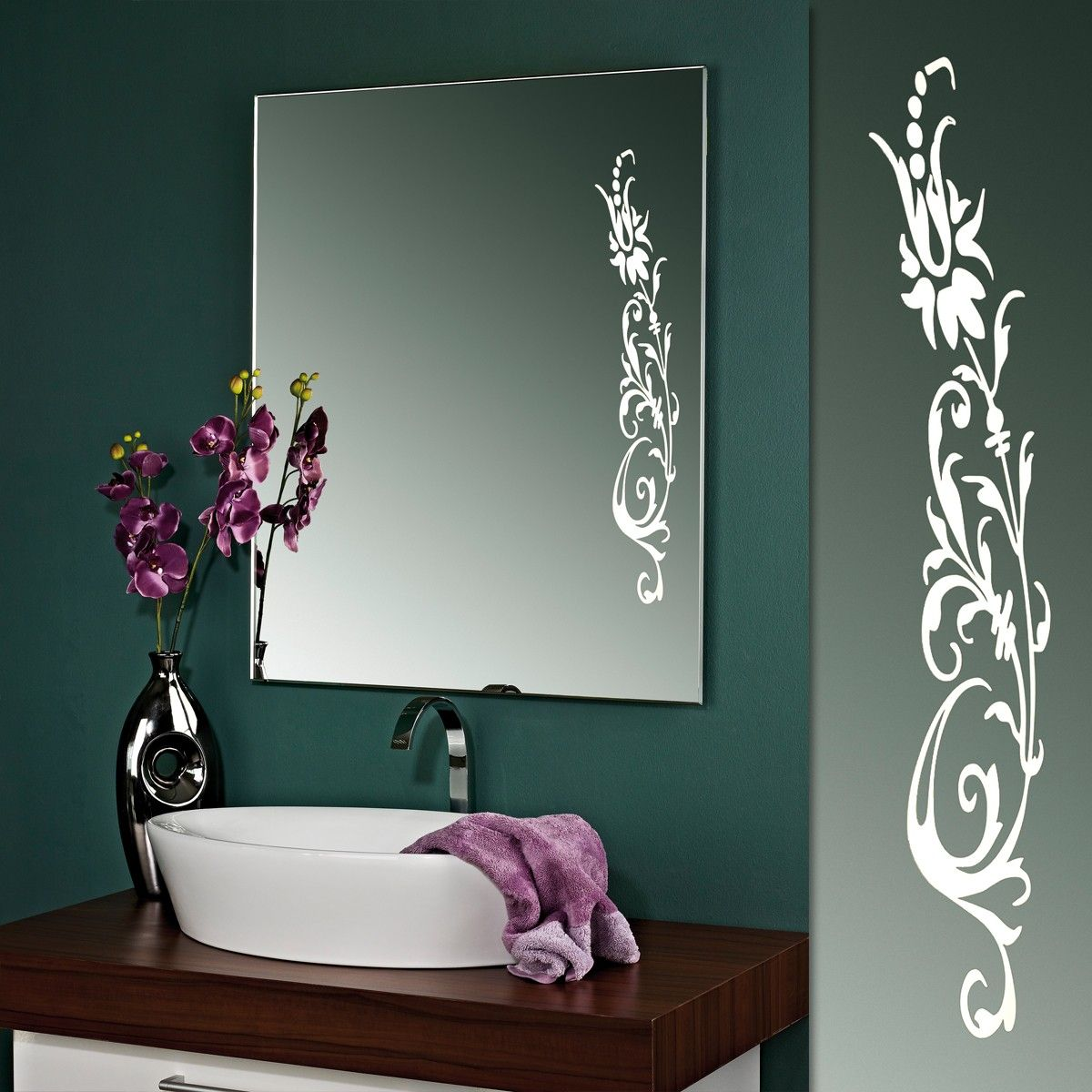 Designspiegel Dahlia In 2020 With Images Fancy Mirrors Glass Design Lighted Bathroom Mirror