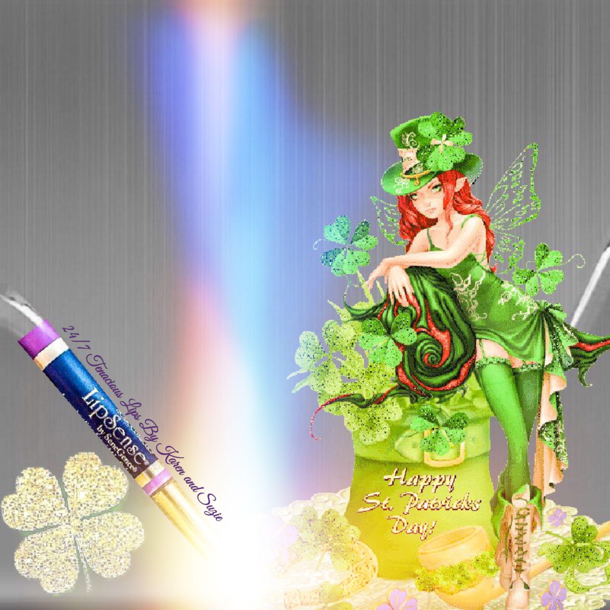 St Patrick's Day Graphic Distributor ID to 24/7 Tenacious