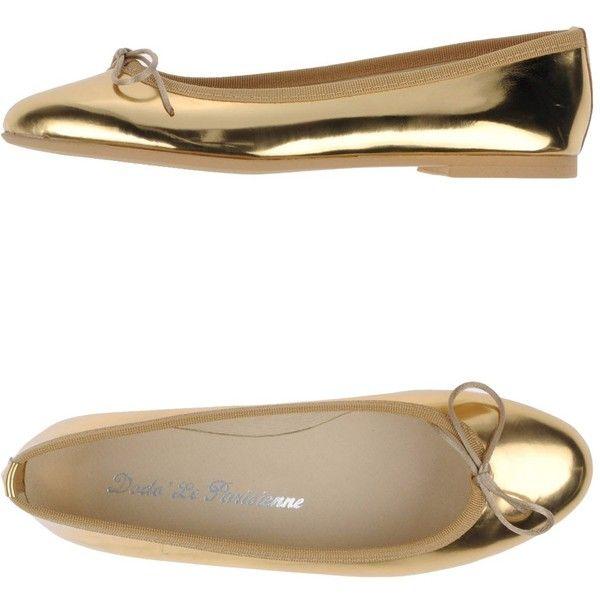 """Dodo' Le Parisienne Ballet Flats"" found on Polyvore"