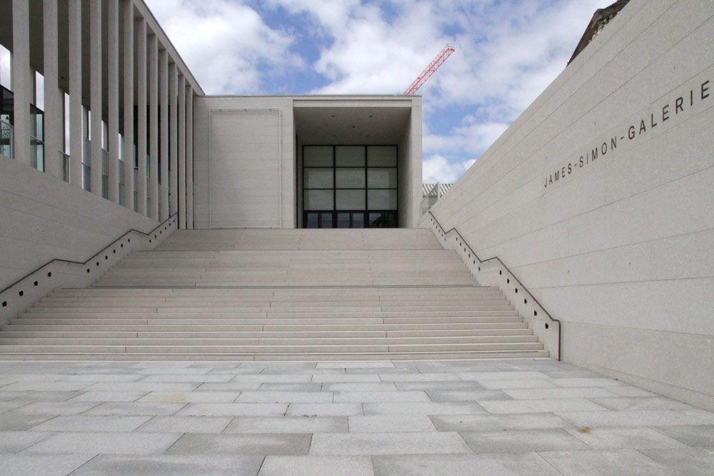 James Simon Galerie Eingangsgebaude Und Besucherzentrum Der Museumsinsel Berlin Berlin Stadt Berlin Museumsinsel Berlin
