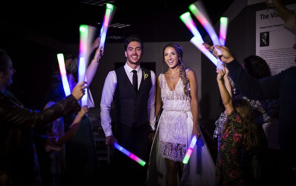 What Size Glow Sticks For Wedding Send Off