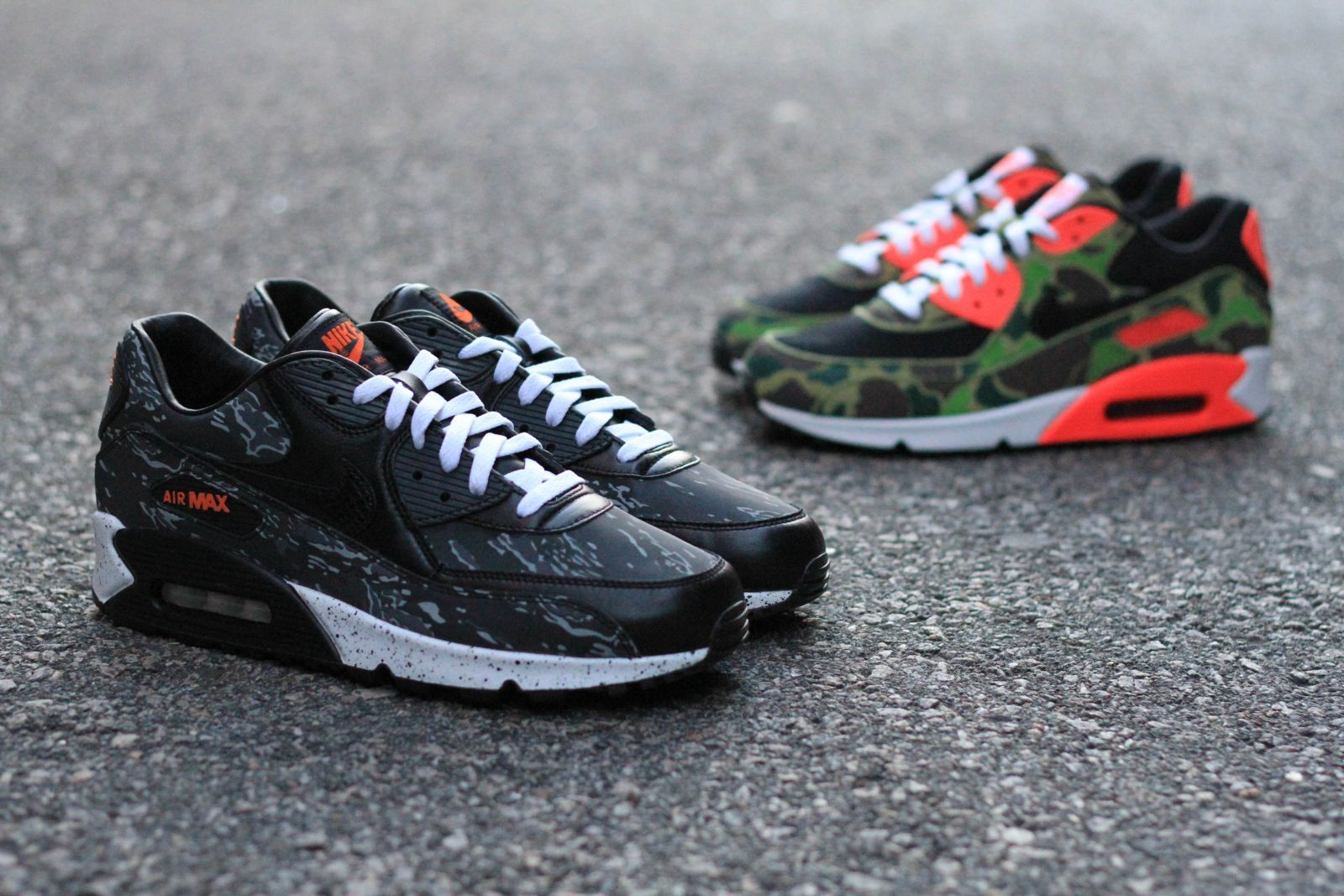 atmos x Nike Air Max 90 'Premium Camo Pack' Available at