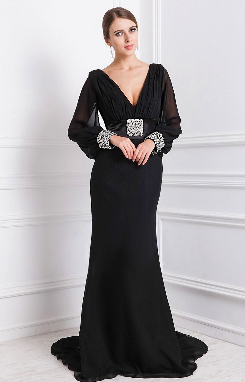 Best Long Sleeve Plus Size Gowns Pictures - Mikejaninesmith.us ...