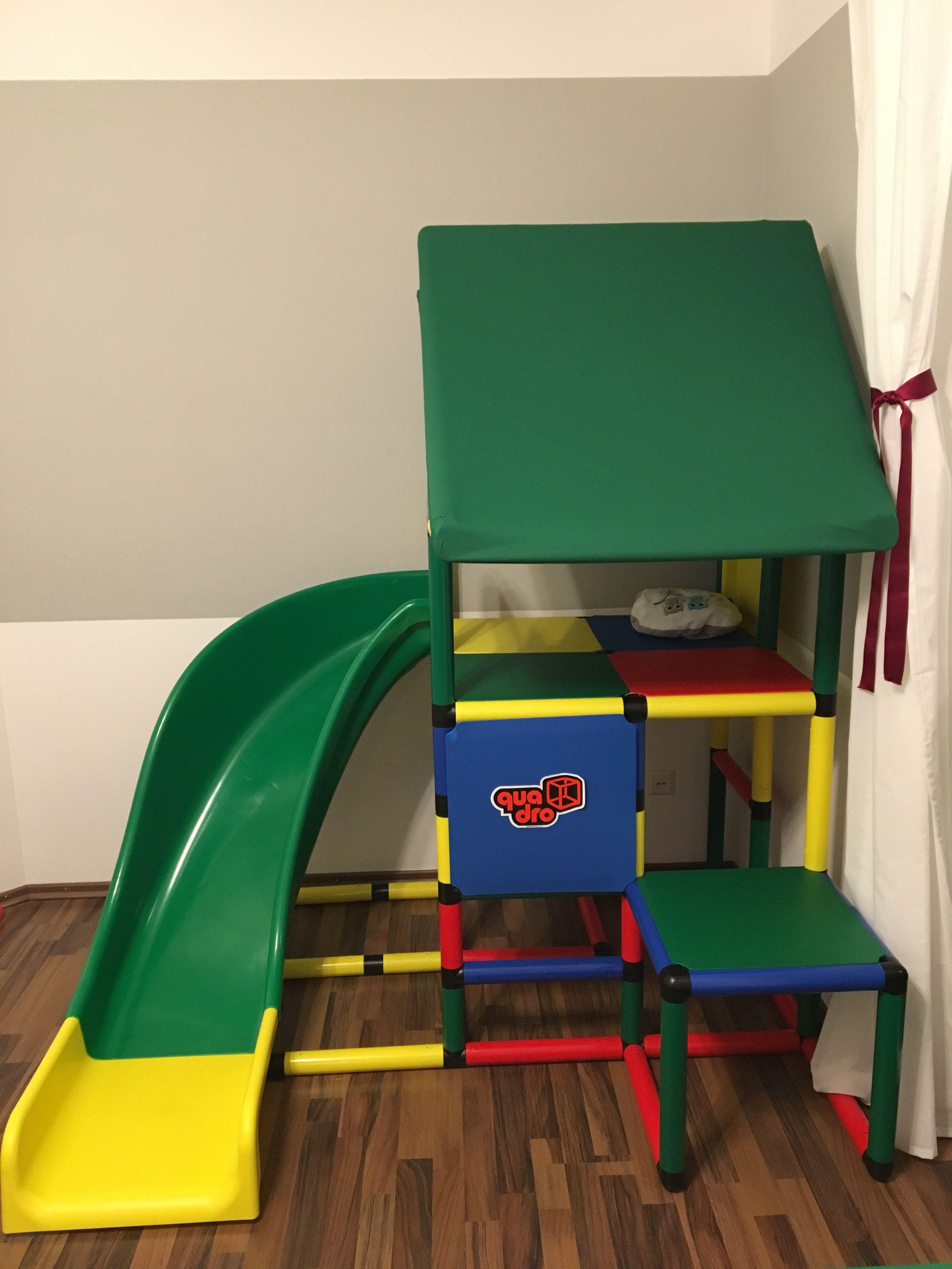 Indoor Klettergerüst von QUADRO fürs Kinderzimmer - einfach super ...