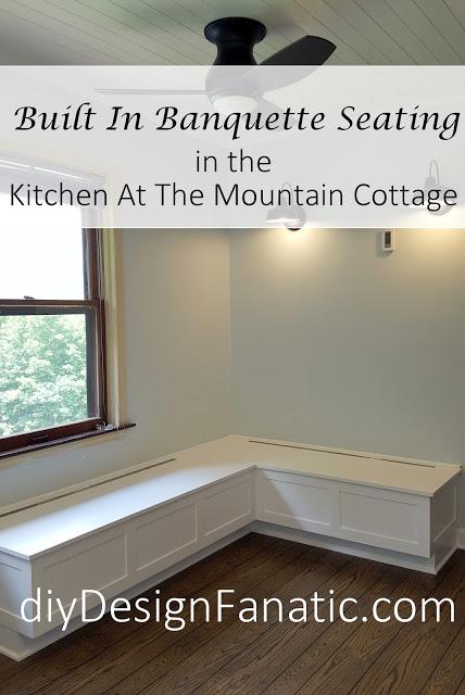 Diy Design Fanatic Mountain Cottage Kitchen Reno Built In Banq Living Room Furniture Arrangement Country Living Room Furniture Leather Living Room Furniture