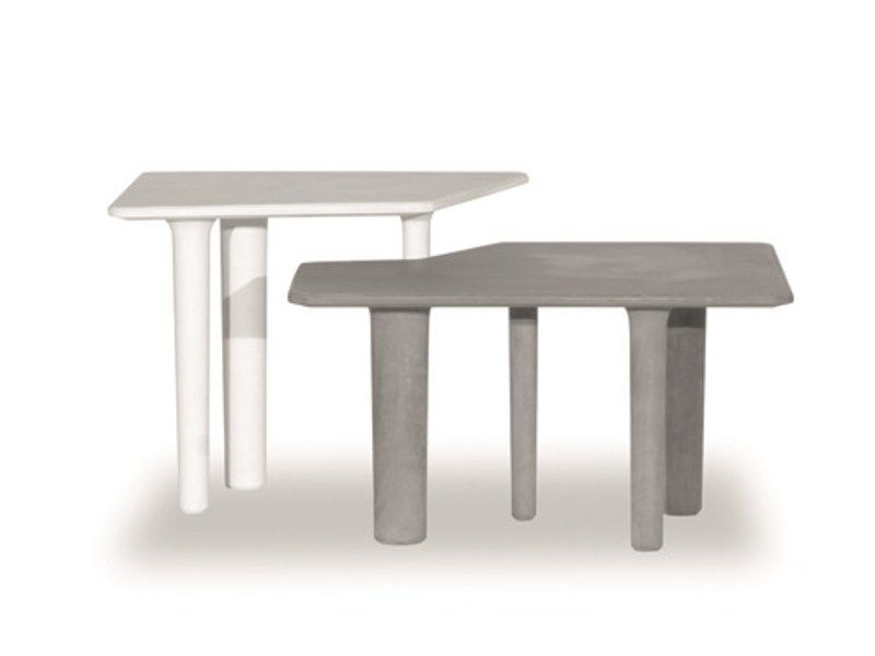 Cement Garden Side Table JAVA By BAXTER OUTDOOR Pinterest Java - Outdoor cement side table