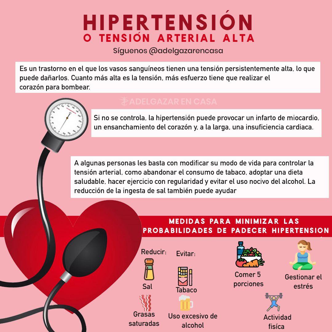 Persona delgada con presión arterial alta