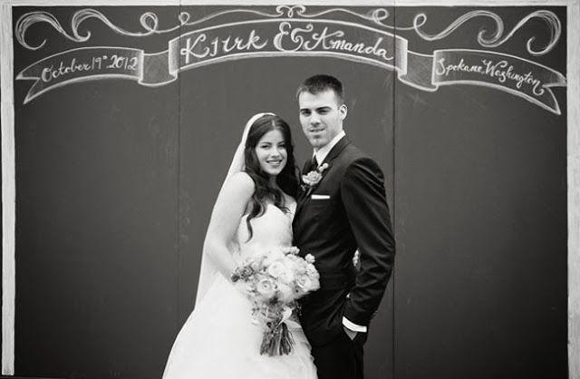 Wedding Inspirations | Chalkboard backdrops | UBetts Rental ...
