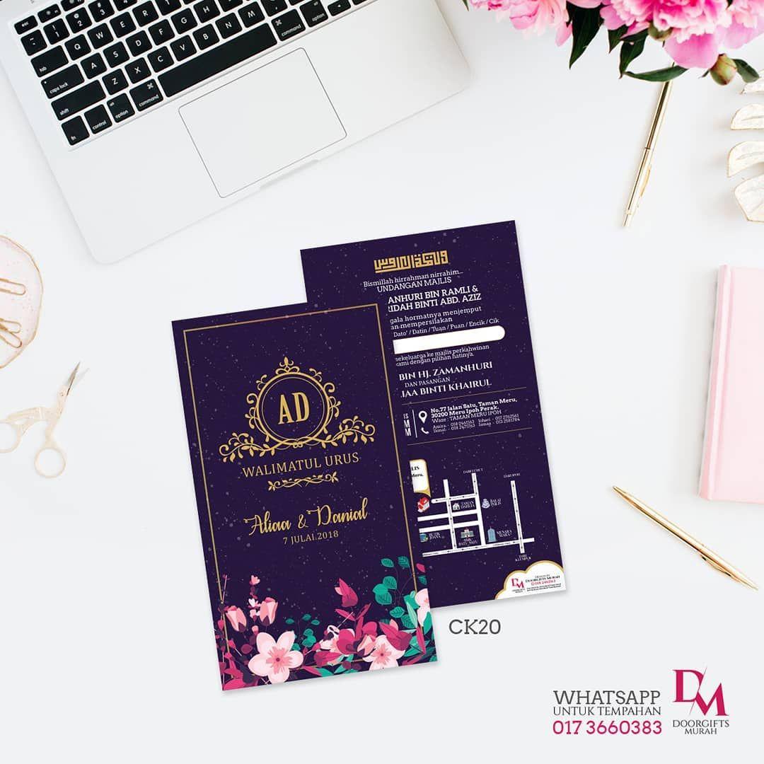 Promosi Kad Kahwin Code Design Ck20 Whatsapp Kami 0173660383 Untuk Tempahan Doorgift Murah Paperbag Paperbagmurah Diy Gifts Wedding Cards Kad Kahwin
