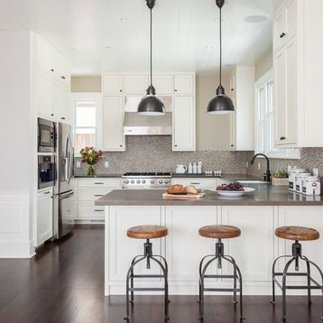 Kitchen Peninsula Kitchen Design Ideas & Remodel Pictures | Houzz ...