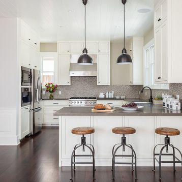 Kitchen Peninsula Kitchen Design Ideas  Remodel Pictures Houzz - remodelacion de cocinas