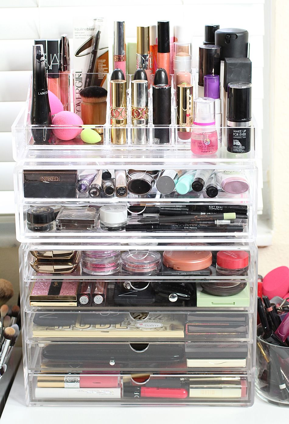 Affordable Makeup Storage Solutions Collective Beauty Makeup Storage Makeup Storage Solutions Ikea Makeup Storage