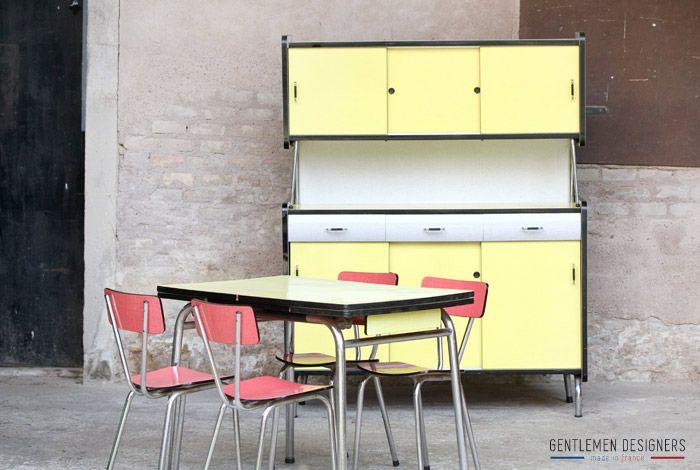 Populaire Table De Cuisine Vintage. Simple Table De Cuisine Ou Bureau En  RS41