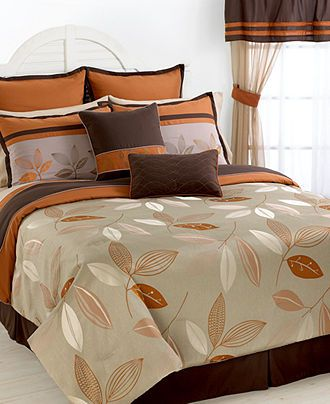 Henley 24 Piece California King Comforter Set Bed In A