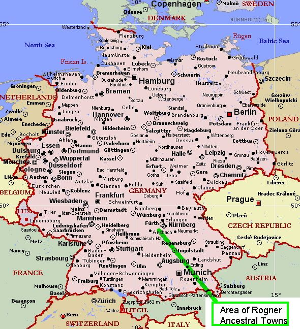 map of bavaria germany - Yahoo Search Results | Germany / German ...