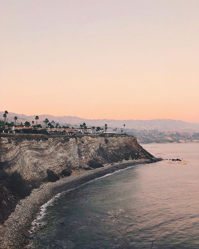 Travel Vacation Destinations Terranea Resort Sunset Palos Verdes California Beach
