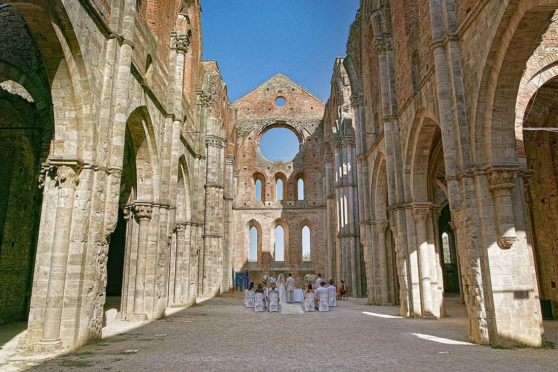 San Galgano Abbey weddings