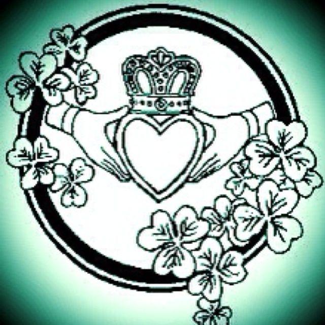 Trinity Knot & Claddagh Tattoo: The claddagh is an Irish ...