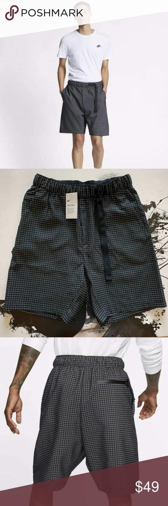 NIKE SPORTSWEAR TECH PACK WOVEN SHORTS 🔘 Brand New with