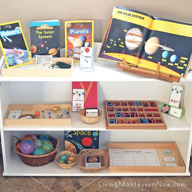 Photo of Free Solar System Printables and Montessori-Inspired Solar System Activities