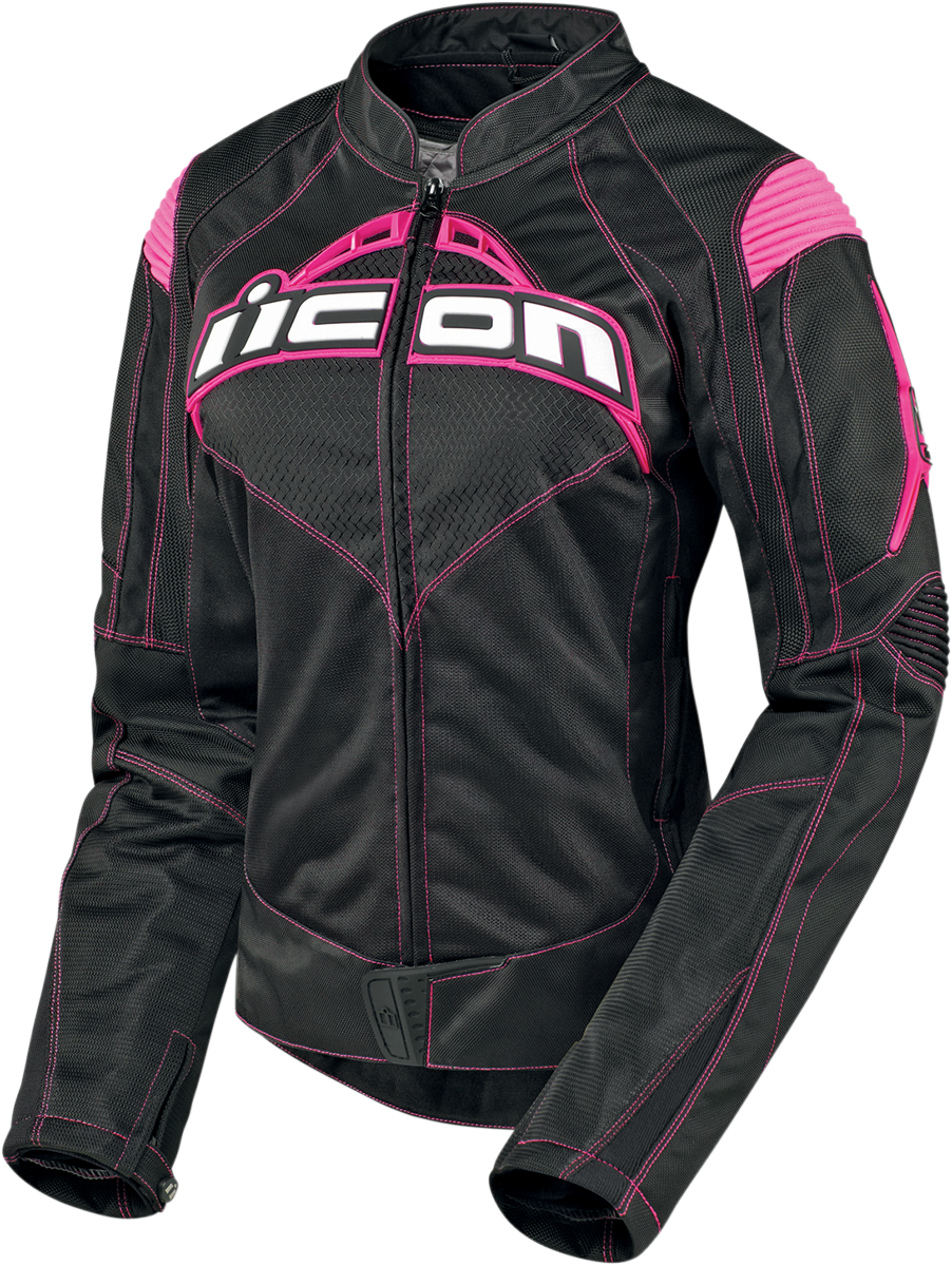 Contra Jacket Black/pink Products Ride Icon (With