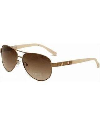 oculos guess aviador gu7279 rogld-34 rosê gold tamanho g   á venda ... 20e4767c3b