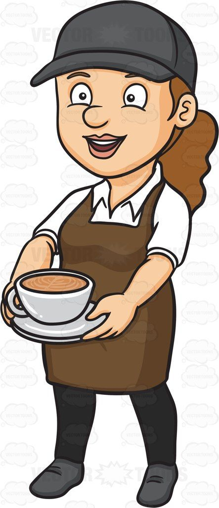 a female barista serving a mug of hot chocolate hot chocolate vector hot chocolate barista a female barista serving a mug of hot
