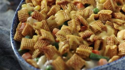 tuna-vegetable casserole   recipe   recipes, cereal recipes