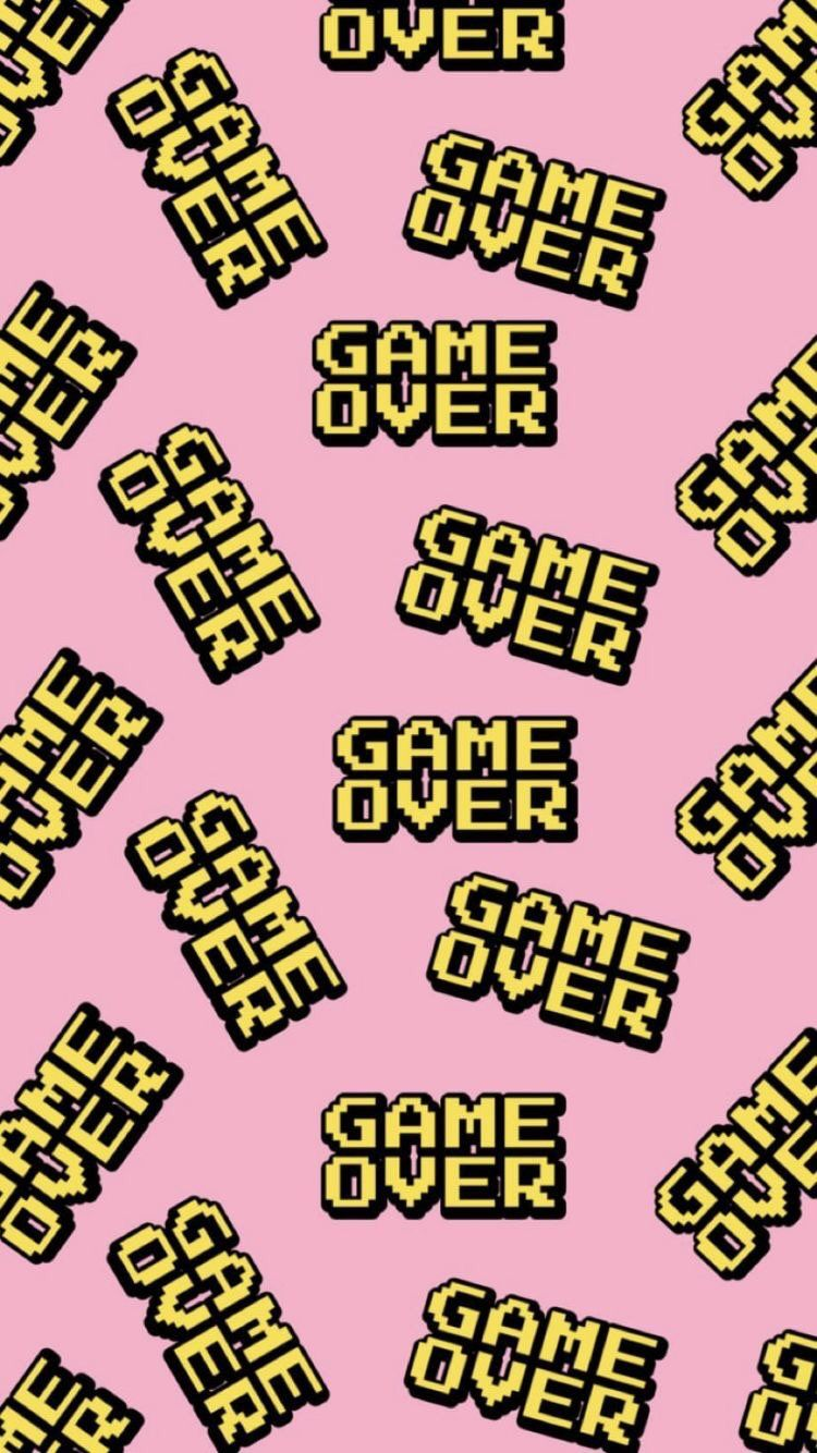 Iphone And Android Wallpapers Game Over Wallpaper For Iphone And