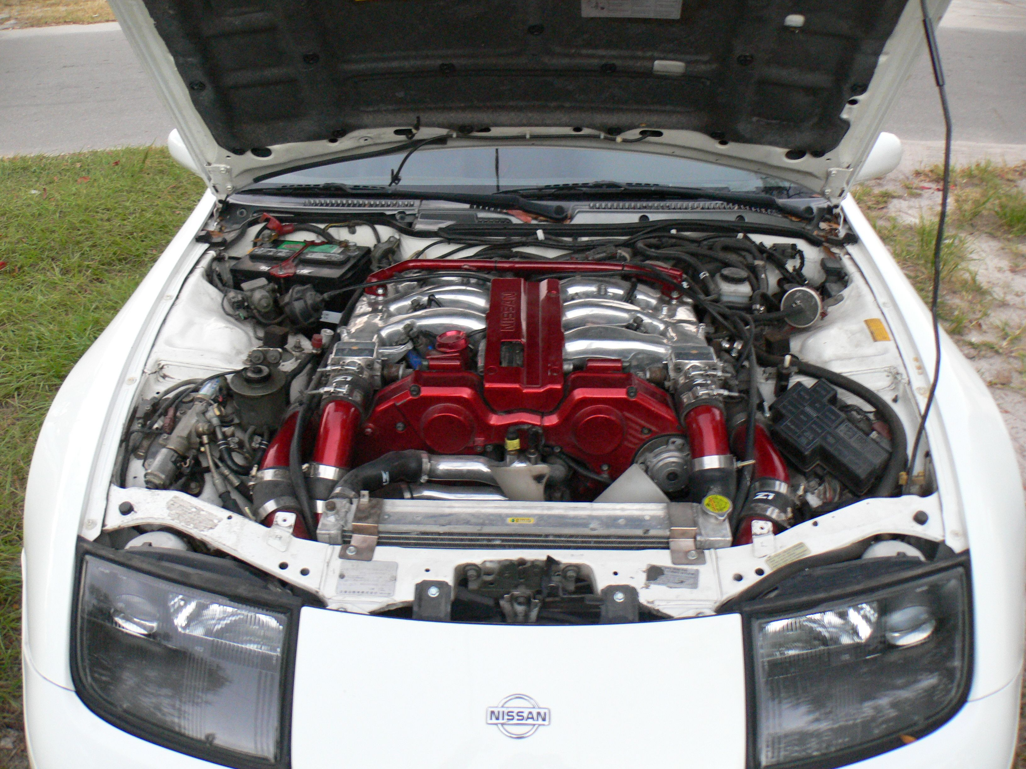 Picture Of 1991 Nissan 300zx Engine Diagram