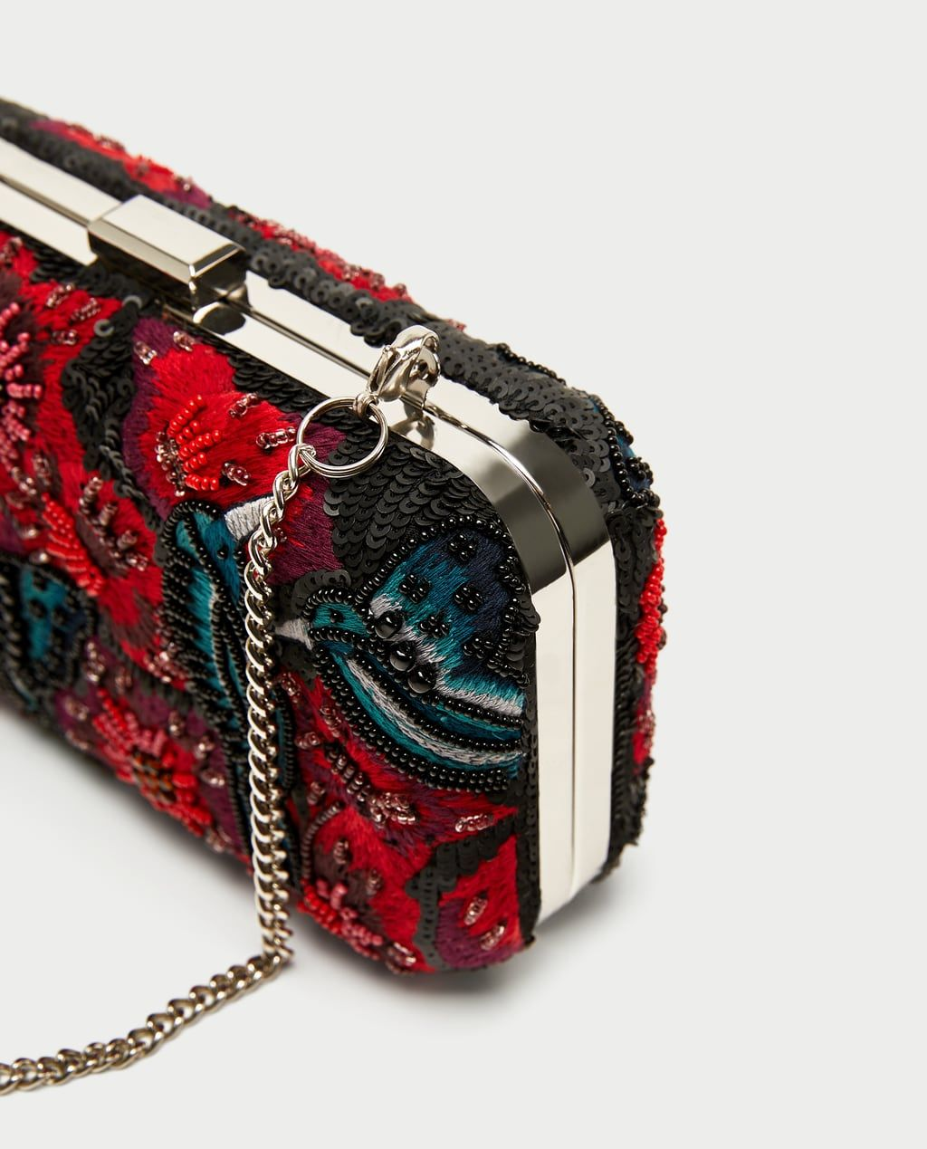 3cff7f8ec8b MINAUDIÈRE WITH EMBROIDERED BEADS-NEW IN-WOMAN   ZARA United States Beaded  Bags,