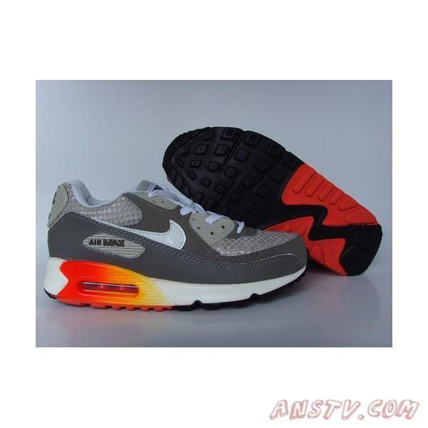 buy online f2e02 b854e ... canada de nouveaux styles venant nike air max 90 hommes gris blanc rouge  3875c cf9e9